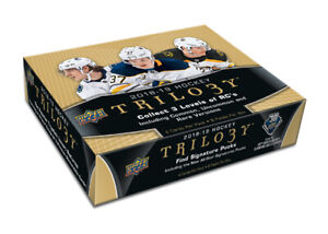 2018-19 Upper Deck Trilogy Hockey Available @ Breakaway