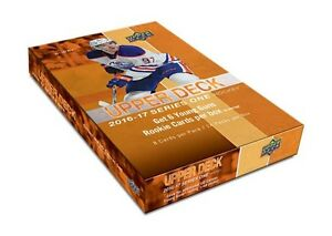 16-17 Upper Deck Series 1 Hobby, Retail & Tins Now Available