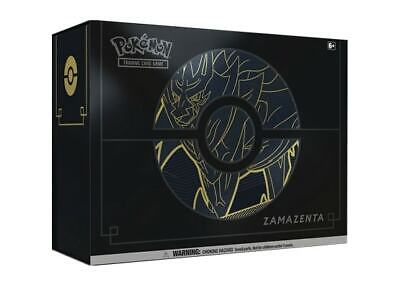 Pokemon Trading Card Game Zamazenta Elite Trainer Box Plus New/Sealed