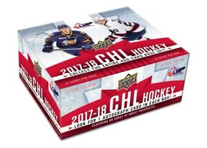 17-18 Upper Deck CHL Hockey Now Available @ Breakaway