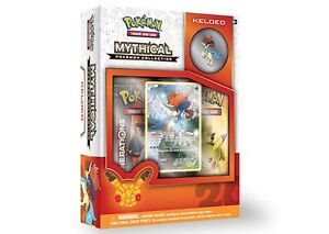 Pokemon Keldeo Mythical Collection Box Available October 3rd