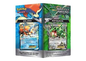 Pokemon Battle Arena Decks Rayquaza Keldeo Now Available