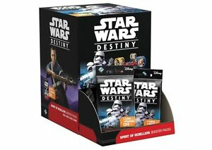 Star Wars Destiny Spirit of the Rebellion Booster Now Available