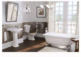 Bathroom Suite - Single Ended Roll Top Bath Suite £699.00