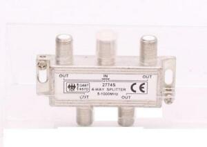 PCT 4-way RF Splitter, CATV Signal Distribution - SP4HQ