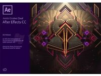 Adobe After Effects CC 2017 for Windows / Macbook / Imac