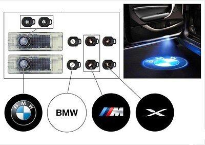 BMW Genuine Puddle Light LED Door Projectors Roundel, xDrive, M LOGO 63312414105