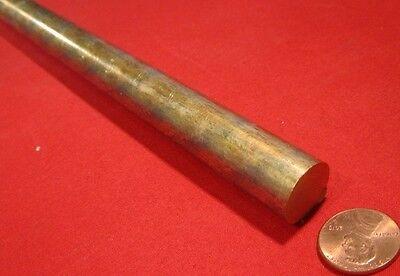 932 Sae 660 Bearing Bronze Rod 58 Dia. X 13 Length 1 Pcs
