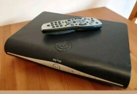 Sky + HD box including cables and remote