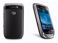 Blackberry Torch 9800 Black (Unlocked) Smartphone in good condition