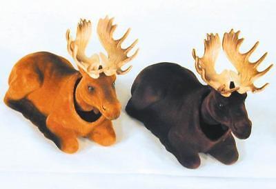 Novelty Car Horns (2 MOOSE BOBBING HEADS moving bobble head animal wild car dash novelty horns)