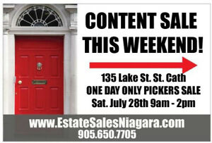 FULL HOME ESTATE SALE WITH SPA EQUIPMENT! PICKERS SALE!