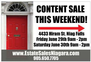 CANADA DAY WEEKEND ESTATE SALE!