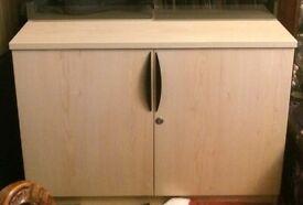 Beech Cabinet Unit : W39.5in x H29in x D23in