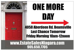 Last Chance to Pick at Beamsville Property before the bins come!