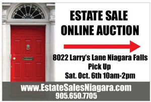 FINAL DAY of ESTATE SALE in Niagara Falls (Chippawa)