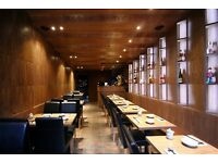 Luxury High quality Japanese restaurant looking for a Sushi Chef!!