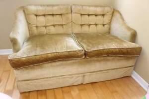 Antique love seat