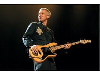 U2 Tribute act seeks bass guitar player (Adam Clayton)