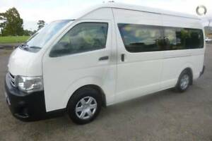 FROM $93 P/WEEK ON FINANCE* 2013 TOYOTA HIACE COMMUTER SUPER Coburg Moreland Area Preview
