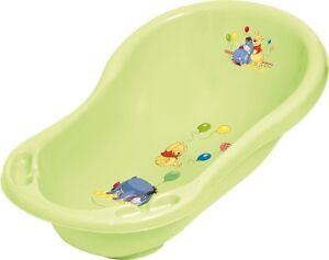 baignoire b b winnie l 39 ourson vert avec bouchon de. Black Bedroom Furniture Sets. Home Design Ideas