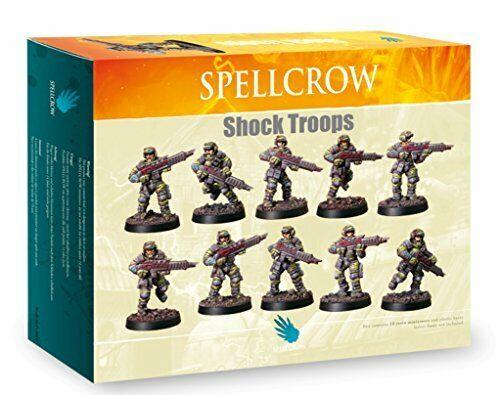 Spellcrow Miniatures Shock Troops Guardsmen