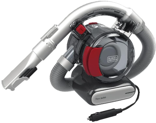 Flex Car Vacuum, 12V Corded, Heavy Duty Cleaner