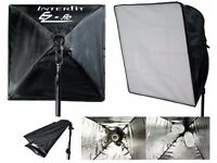 Interfit INT151 EZ flo Twin Head Photography / Video Lighting Kit