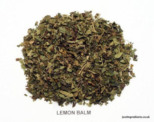 how to cut lemon balm