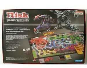 RISK-Transformers Cybertron Battle Edition-Parker Brothers London Ontario image 2