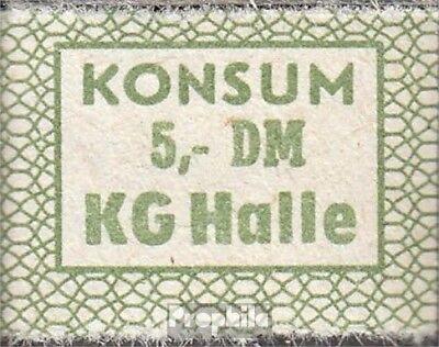 DDR Konsummarke KG Halle bankfrisch 5 DM
