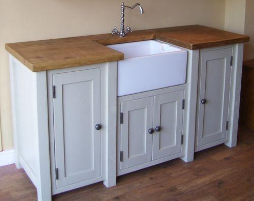 Kitchen Free Standing Island With Sink
