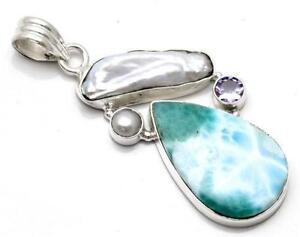 925 silver pendant ebay 925 silver large pendants aloadofball Image collections