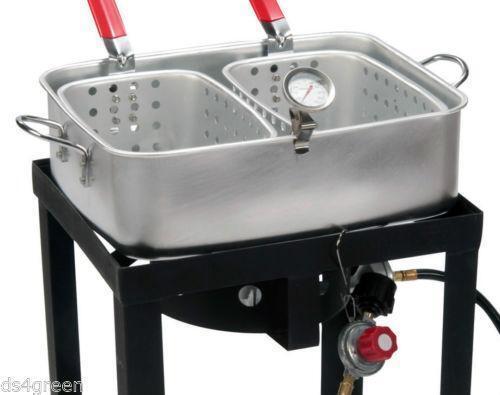 2 Basket Deep Fryer Ebay