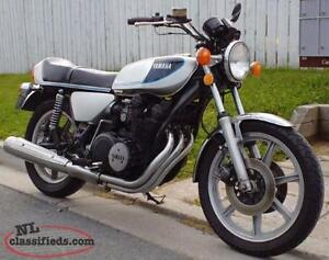 1976 YAMAHA XS750 EUROSPORT THREE CYLINDER, SHAFT DRIVEN