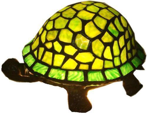 Stained glass turtle night light ebay - Turtle nite light ...