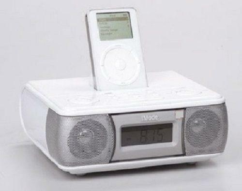 ipod docking station with speakers ebay. Black Bedroom Furniture Sets. Home Design Ideas