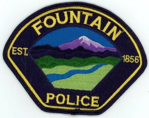 FOUNTAINCOLORADO CO POLICE COLORFUL PATCH SHERIFF