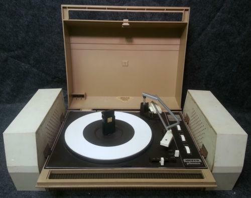 Vintage Stereo Record Player Ebay