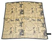 Brown Square Silk Scarf