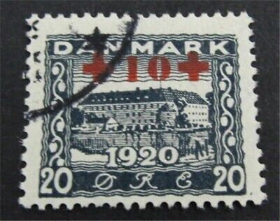 nystamps Denmark Stamp # B2 Used $78   L23y226