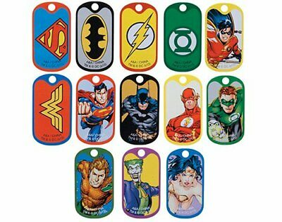 Kids Dog Tags (DC Comics Justice League Super Heroes Dog Tags Boys Girls)