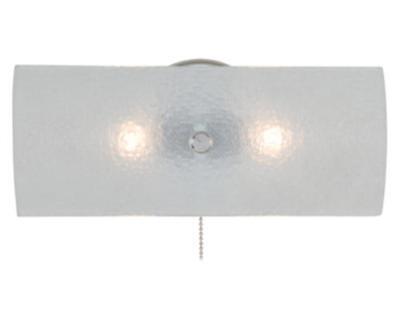 NEW 2-Light Chrome Vanity Light Bath Frosted Bubble Glass Fixture Lighting Lamp