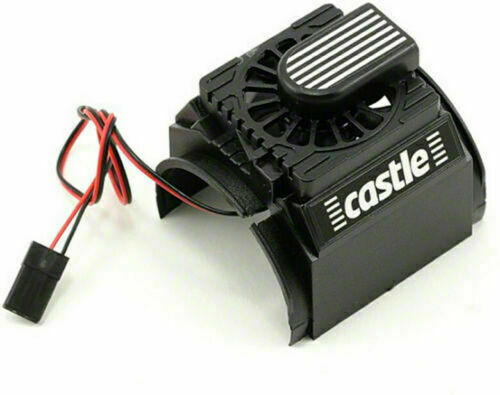 Castle Creations Cooling Fan & Shroud for 1/8th Motors 011-0004-00 NIB free ship