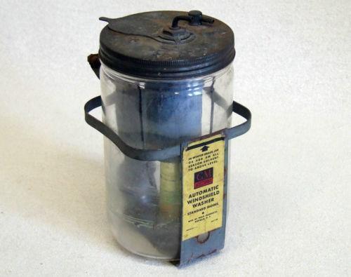 Glass Windshield Washer Bottle