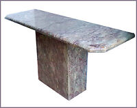 Vintage Marble Console Hall Entry Table