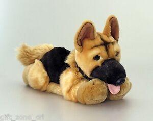 DOG NERO - GERMAN SHEPHERD Alsatian Soft Toy from KEEL TOYS - 30cm