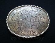 Antique Western Belt Buckle
