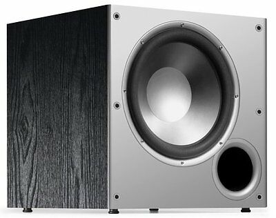 Polk Audio PSW10 10-Inch Powered Subwoofer High Amplifier Big Bass(Single,Black)