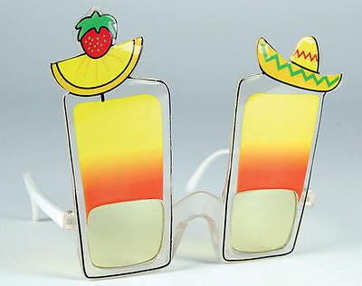 Cocktail Sunglasses Glasses Tequila Tequilla Shot Beach Party Tropical Caribbean